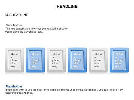 Plates Diagram Toolbox, Slide 13, 03464, Shapes — PoweredTemplate.com