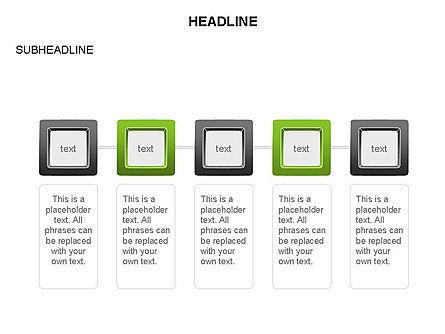 Plates Diagram Toolbox, Slide 14, 03464, Shapes — PoweredTemplate.com