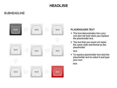 Plates Diagram Toolbox, Slide 18, 03464, Shapes — PoweredTemplate.com