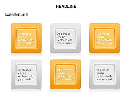 Plates Diagram Toolbox, Slide 19, 03464, Shapes — PoweredTemplate.com