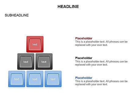 Plates Diagram Toolbox, Slide 20, 03464, Shapes — PoweredTemplate.com