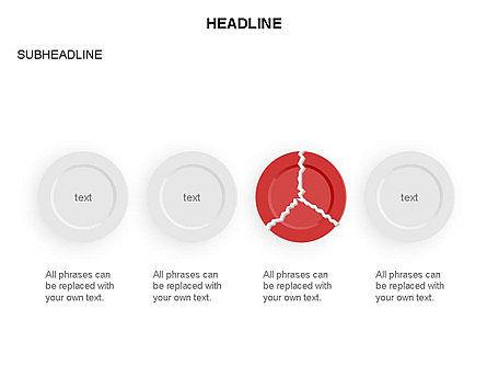Plates Diagram Toolbox, Slide 22, 03464, Shapes — PoweredTemplate.com
