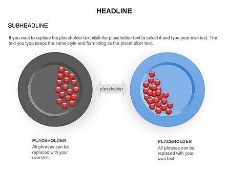 Plates Diagram Toolbox, Slide 24, 03464, Shapes — PoweredTemplate.com