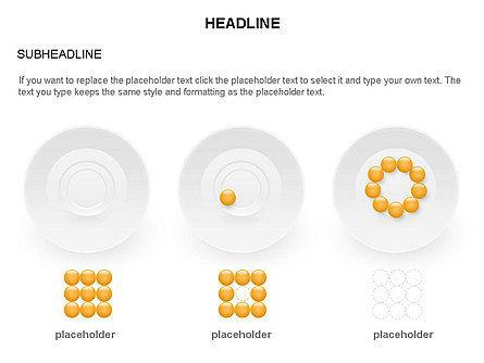 Plates Diagram Toolbox, Slide 25, 03464, Shapes — PoweredTemplate.com