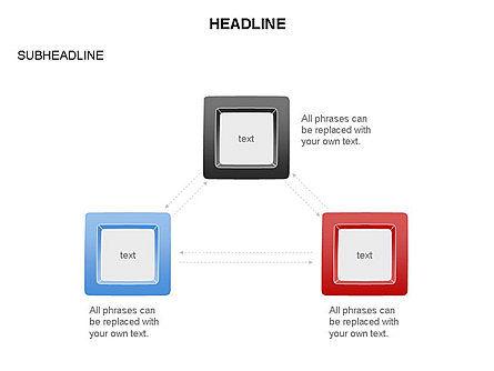 Plates Diagram Toolbox, Slide 27, 03464, Shapes — PoweredTemplate.com