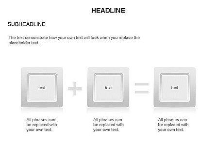 Plates Diagram Toolbox, Slide 28, 03464, Shapes — PoweredTemplate.com