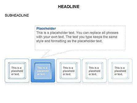 Plates Diagram Toolbox, Slide 7, 03464, Shapes — PoweredTemplate.com