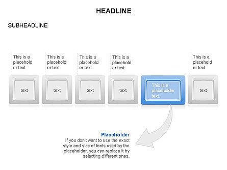 Plates Diagram Toolbox, Slide 9, 03464, Shapes — PoweredTemplate.com