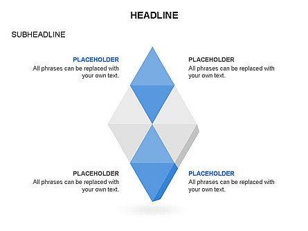 Rhombus Charts, Slide 11, 03465, Stage Diagrams — PoweredTemplate.com