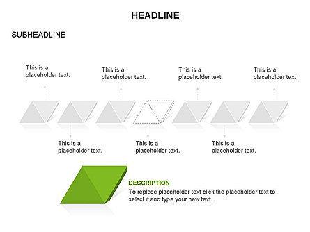 Rhombus Charts, Slide 14, 03465, Stage Diagrams — PoweredTemplate.com