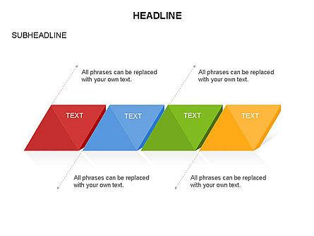 Rhombus Charts, Slide 16, 03465, Stage Diagrams — PoweredTemplate.com
