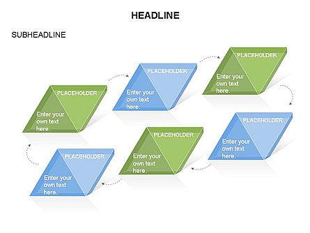 Rhombus Charts, Slide 18, 03465, Stage Diagrams — PoweredTemplate.com