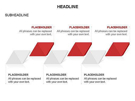 Rhombus Charts, Slide 5, 03465, Stage Diagrams — PoweredTemplate.com