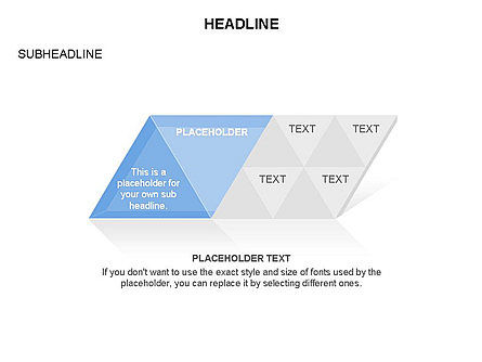 Rhombus Charts, Slide 6, 03465, Stage Diagrams — PoweredTemplate.com