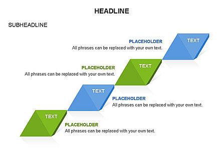 Rhombus Charts, Slide 8, 03465, Stage Diagrams — PoweredTemplate.com