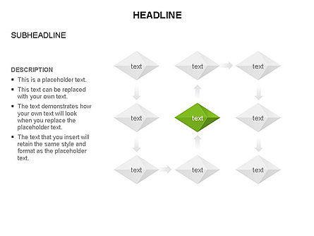 Octahedron Charts, Slide 16, 03466, Business Models — PoweredTemplate.com