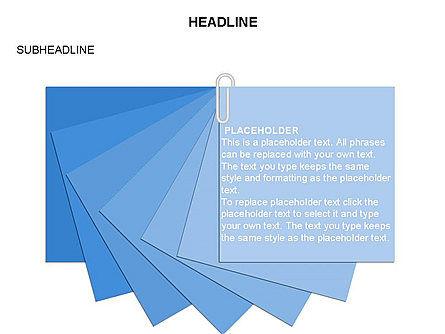 Scratch Paper Shapes, Slide 28, 03467, Shapes — PoweredTemplate.com