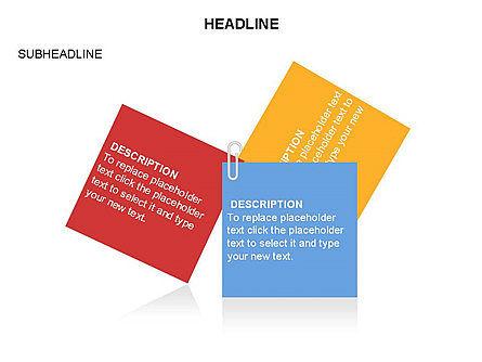 Scratch Paper Shapes, Slide 6, 03467, Shapes — PoweredTemplate.com