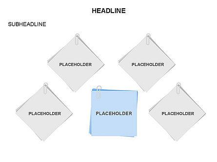 Scratch Paper Shapes, Slide 9, 03467, Shapes — PoweredTemplate.com