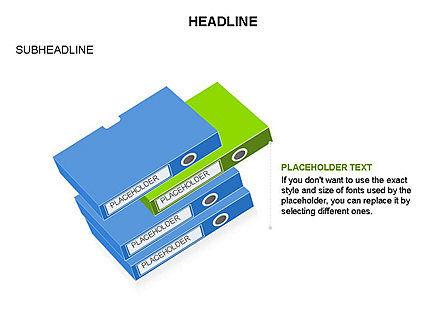 Binders Diagram, Slide 12, 03470, Stage Diagrams — PoweredTemplate.com