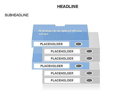Binders Diagram, Slide 21, 03470, Stage Diagrams — PoweredTemplate.com