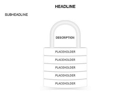 Lock Diagram Collection, Slide 26, 03471, Stage Diagrams — PoweredTemplate.com