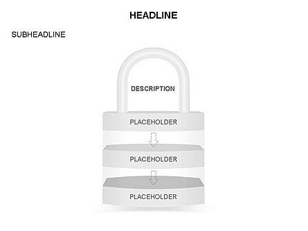 Lock Diagram Collection, Slide 28, 03471, Stage Diagrams — PoweredTemplate.com