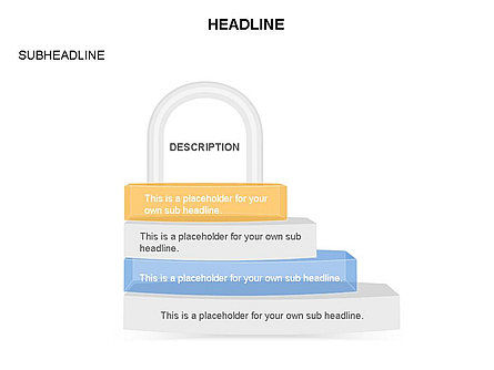 Lock Diagram Collection, Slide 31, 03471, Stage Diagrams — PoweredTemplate.com