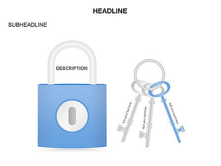 Lock Diagram Collection, Slide 33, 03471, Stage Diagrams — PoweredTemplate.com