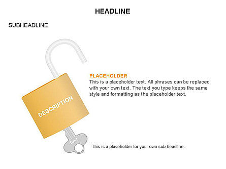 Lock Diagram Collection, Slide 34, 03471, Stage Diagrams — PoweredTemplate.com