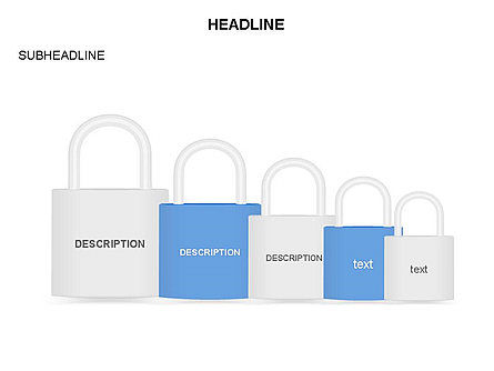 Lock Diagram Collection, Slide 35, 03471, Stage Diagrams — PoweredTemplate.com