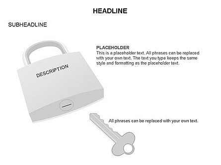 Lock Diagram Collection, Slide 40, 03471, Stage Diagrams — PoweredTemplate.com