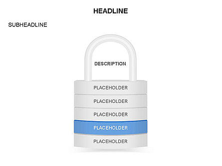 Lock Diagram Collection, Slide 5, 03471, Stage Diagrams — PoweredTemplate.com