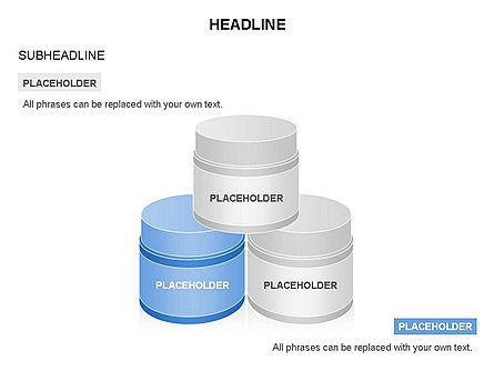 Business Models: Plastic Jar Diagrams #03472