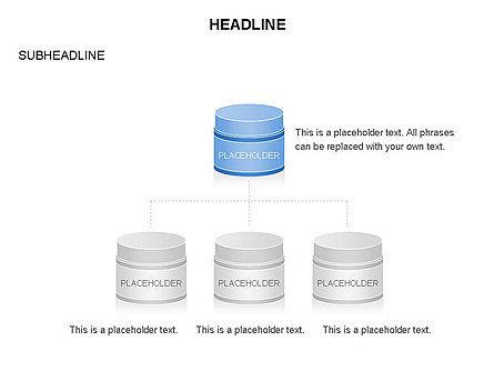 Plastic Jar Diagrams, Slide 10, 03472, Business Models — PoweredTemplate.com