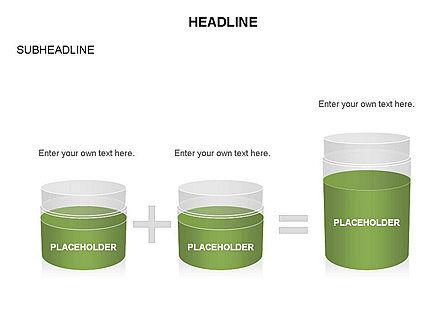 Plastic Jar Diagrams, Slide 11, 03472, Business Models — PoweredTemplate.com