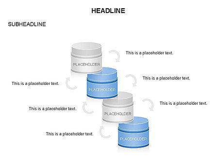 Plastic Jar Diagrams, Slide 12, 03472, Business Models — PoweredTemplate.com