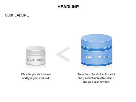 Plastic Jar Diagrams, Slide 14, 03472, Business Models — PoweredTemplate.com