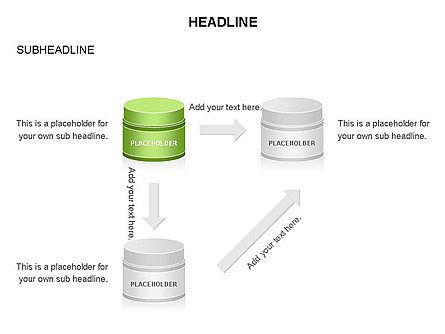 Plastic Jar Diagrams, Slide 15, 03472, Business Models — PoweredTemplate.com