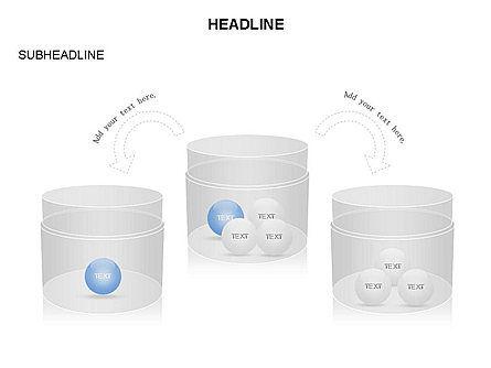 Plastic Jar Diagrams, Slide 16, 03472, Business Models — PoweredTemplate.com