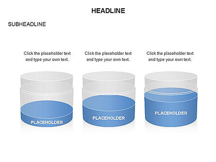 Plastic Jar Diagrams, Slide 19, 03472, Business Models — PoweredTemplate.com