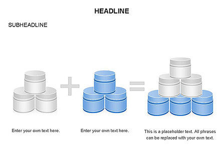 Plastic Jar Diagrams, Slide 2, 03472, Business Models — PoweredTemplate.com