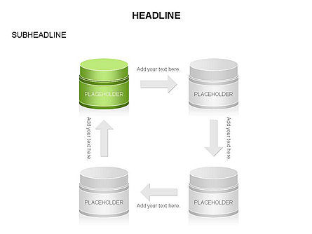 Plastic Jar Diagrams, Slide 20, 03472, Business Models — PoweredTemplate.com
