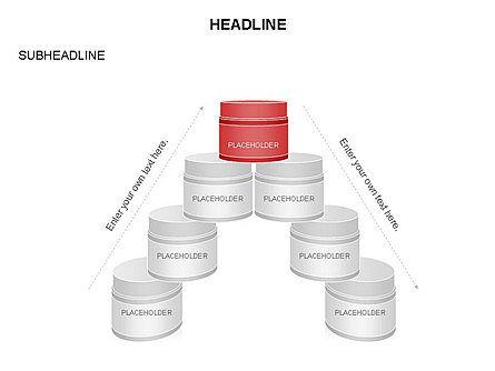Plastic Jar Diagrams, Slide 21, 03472, Business Models — PoweredTemplate.com