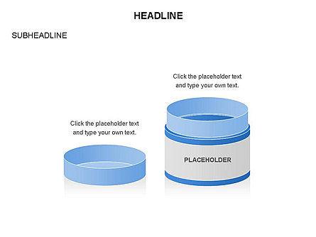 Plastic Jar Diagrams, Slide 22, 03472, Business Models — PoweredTemplate.com