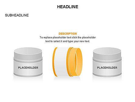 Plastic Jar Diagrams, Slide 23, 03472, Business Models — PoweredTemplate.com