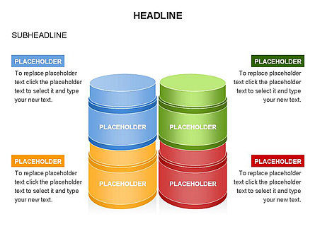 Plastic Jar Diagrams, Slide 4, 03472, Business Models — PoweredTemplate.com