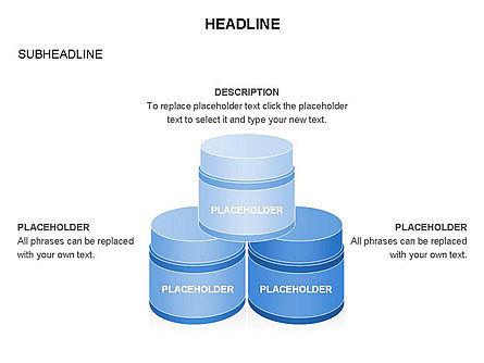 Plastic Jar Diagrams, Slide 5, 03472, Business Models — PoweredTemplate.com