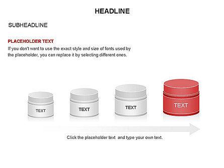 Plastic Jar Diagrams, Slide 6, 03472, Business Models — PoweredTemplate.com