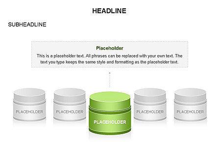Plastic Jar Diagrams, Slide 7, 03472, Business Models — PoweredTemplate.com